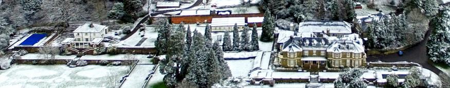 MSSL in the snow. Credit: G. H. Jones