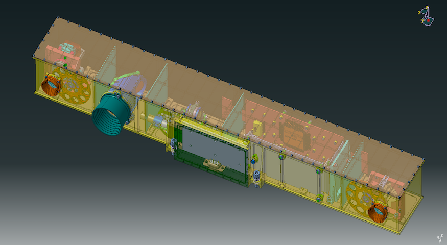CAD model of ExoMars PanCam