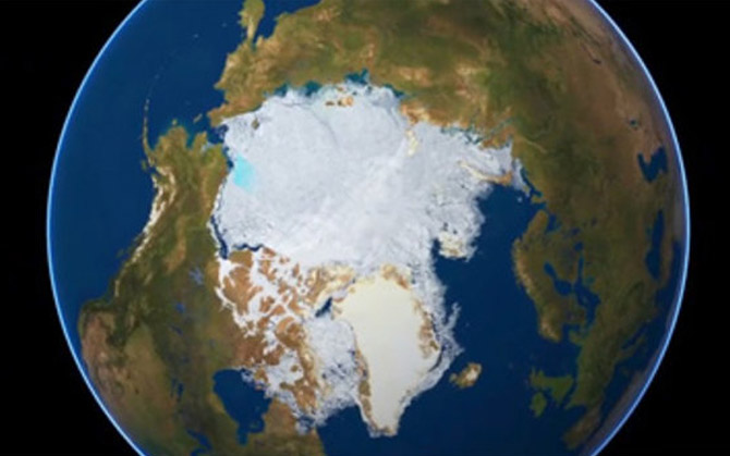 GlobIce: mapping the movement of sea ice