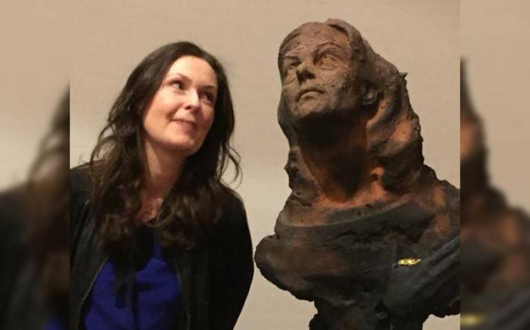 Bust of Lucie Green unveiled at the Royal Society