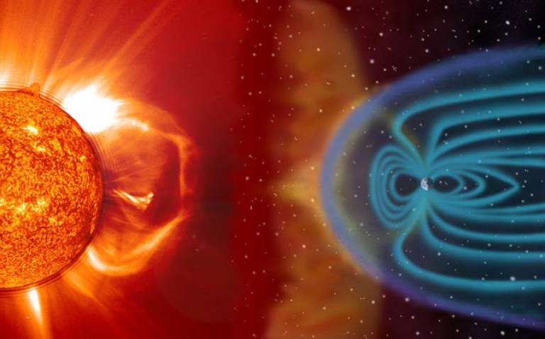 CORONAL MASS EJECTIONS SOMETIMES REACH OUT IN THE DIRECTION OF EARTH