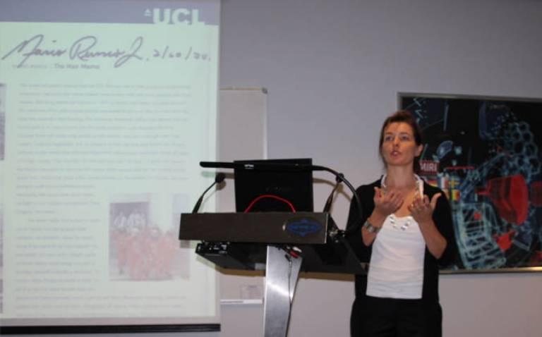 Dr Iya Whiteley keynote speech at UK National Space Centre