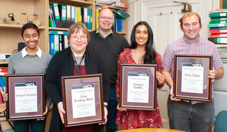 MSSL Award winners 2018