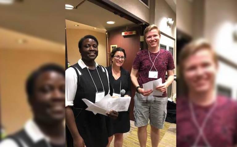 MSSL Space Plasma student wins poster award at SHINE meeting