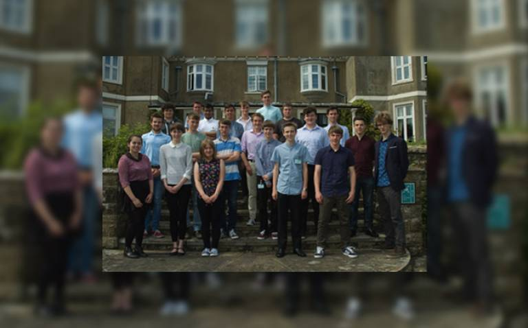 Planetary group student organises Sample Space Science Week at MSSL