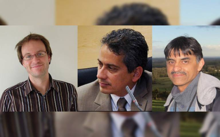 Dr Jason McEwen, Dr Raul Leal and Prof Dhiren Kataria