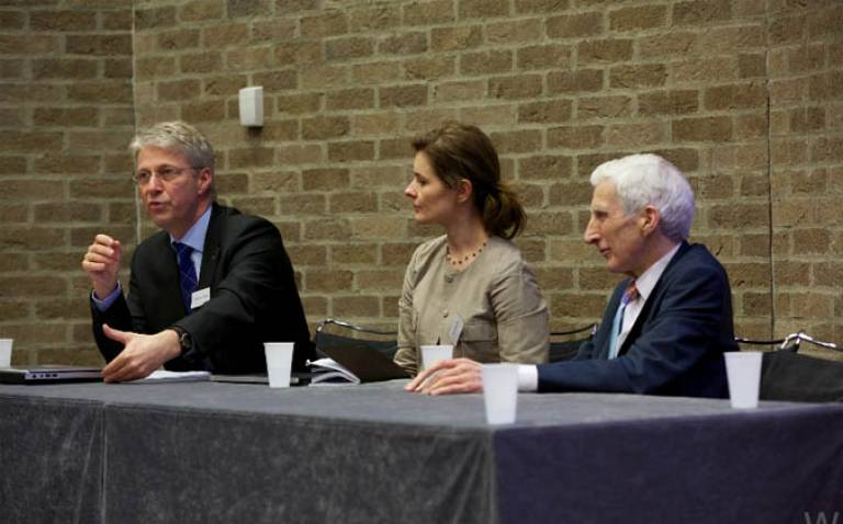 Space Exploration Public Debate with Thomas Reiter, Sir Martin Rees and Dr Iya Whiteley