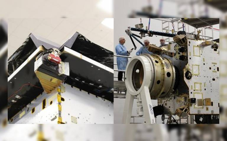 SWA instruments on Display on Solar Orbiter STM Spacecraft