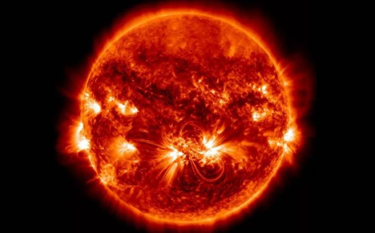The largest active region of the solar cycle on 23 October 2014 (credit: NASA)