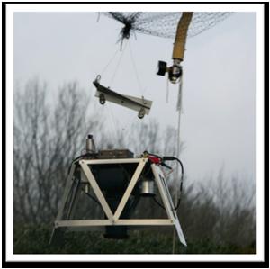 Balloon-borne fluorescent imaging platform, developed under the EU-FP7 ProViScout project.