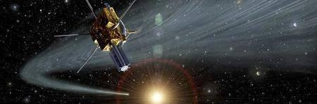 Ulysses crossing Comet Hyakutake's ion trail