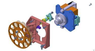 Mechanical configuration of WAC filter wheel
