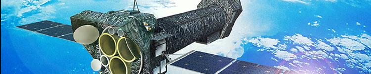 Artist's impression of the XMM-Newton satellite