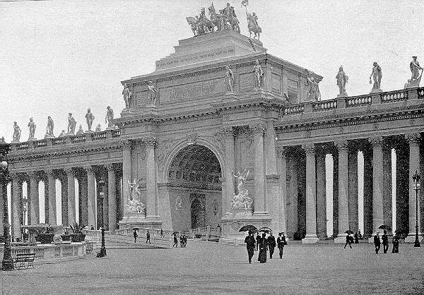 1893 Worlds Columbian Exposition Object Retrieval