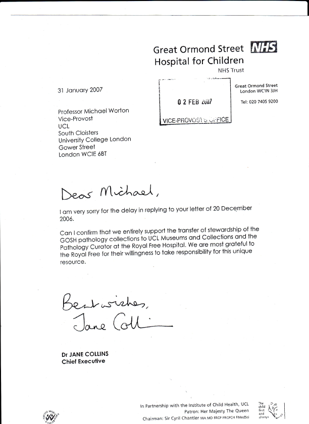 Collins harper case letter to vice