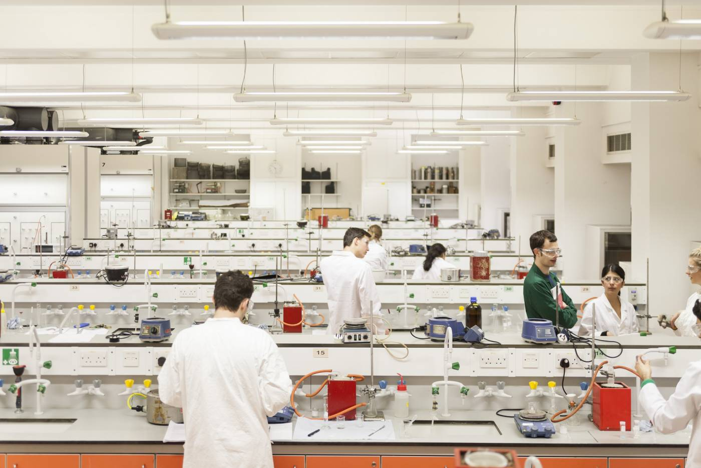 Undergraduate chemistry lab
