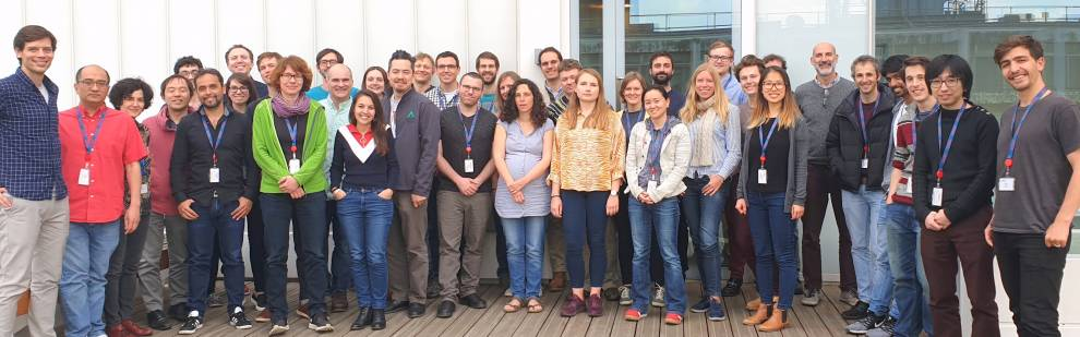 Group photo at the 2019 Neuropixels course at UCL
