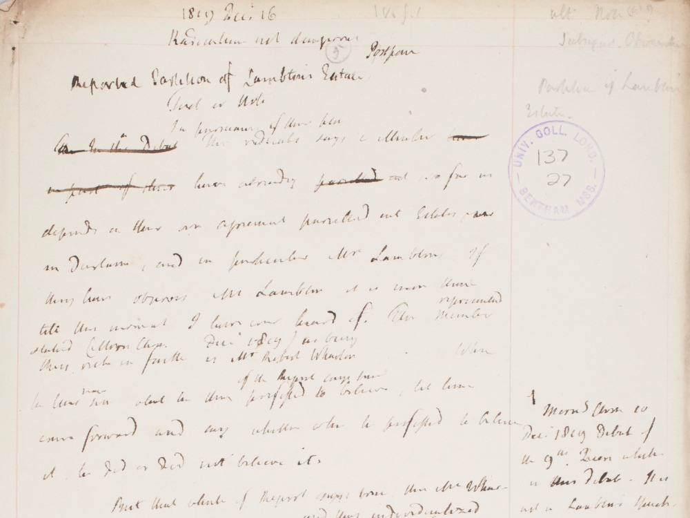 Bentham text resized