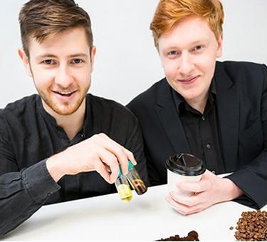 Bio Bean Founders Arthur Kay and Benjamin Harriman