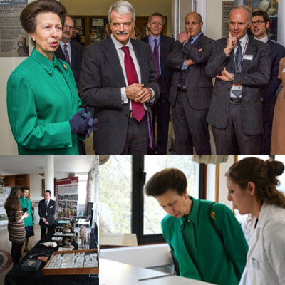 The Princess Royal visits UCL Institute of Archaeology
