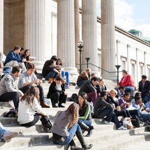 Students at UCL