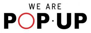The logo for We Are Pop Up
