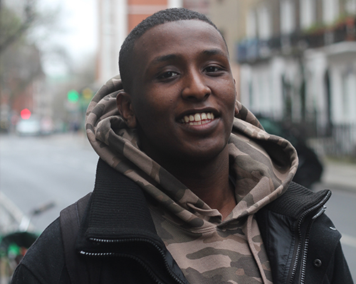 UCL student Abdul Elmi raises £40K for the Somali Drought appeal and he wants to inspire others to take action