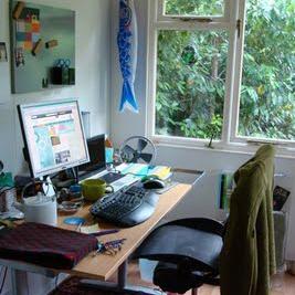 Melissa Terras' home office