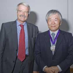 Professors Grant and Tonegawa