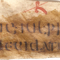 An extract from the Gregorian Code fragments