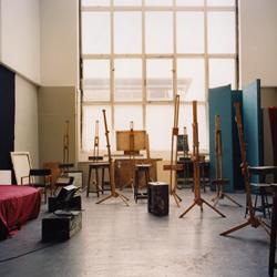 Life painting studio, Glasgow School of Art
