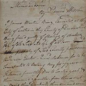 Memorandoms of James Martin