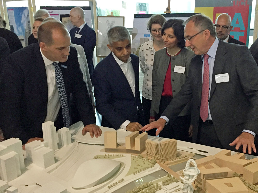 London Mayor and UCL Provost