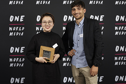 UCL and Open City Docs School graduate announced as winner of One World Media Award for Best Student Film