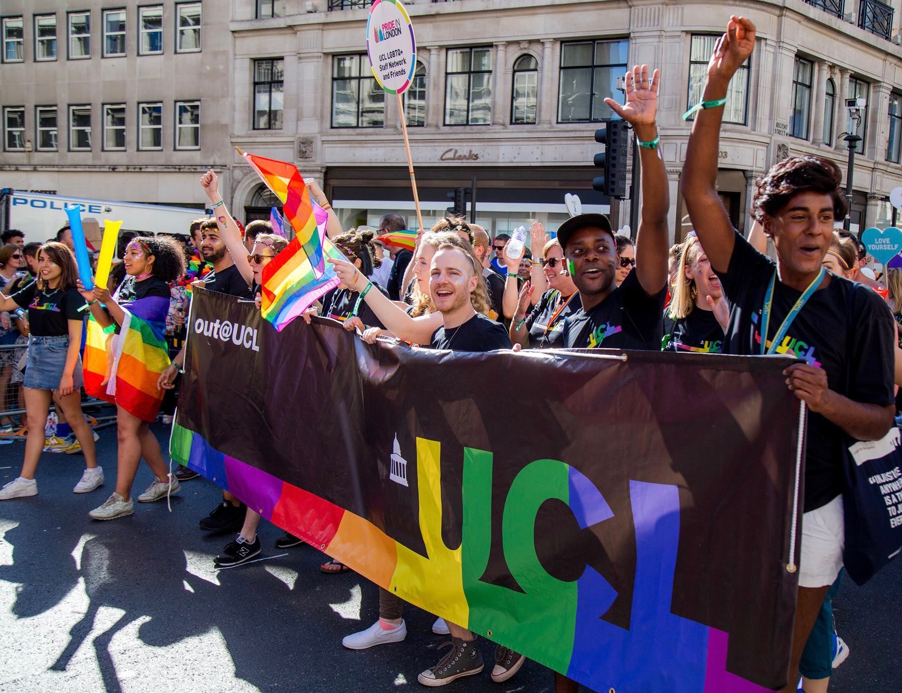 Out@UCL Pride in London