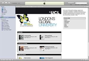 UCL on iTunes U