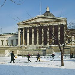 UCL quad under snow