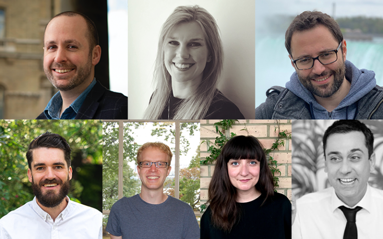 Composite image of seven UCL researchers awarded UKRI Future Leaders Fellowships