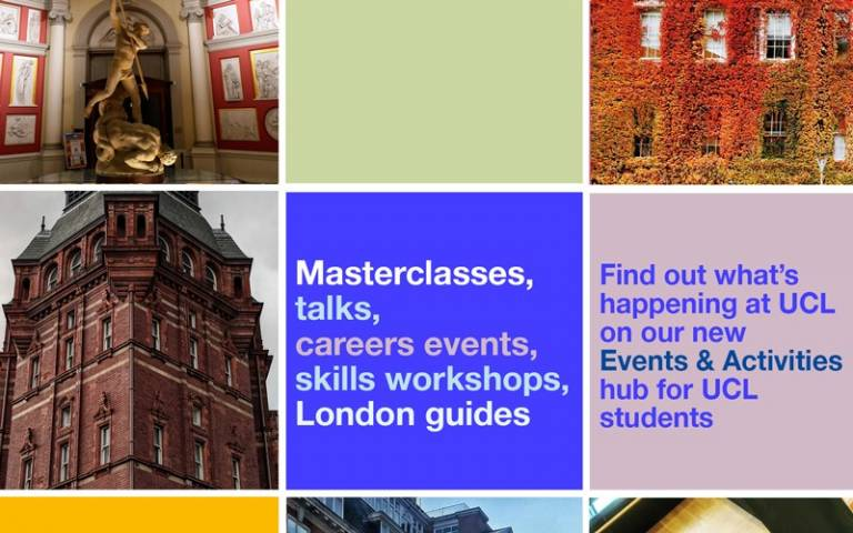 Student Events and Activities hub
