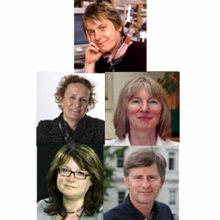 Five new UCL fellows of Academy of Medical Sciences