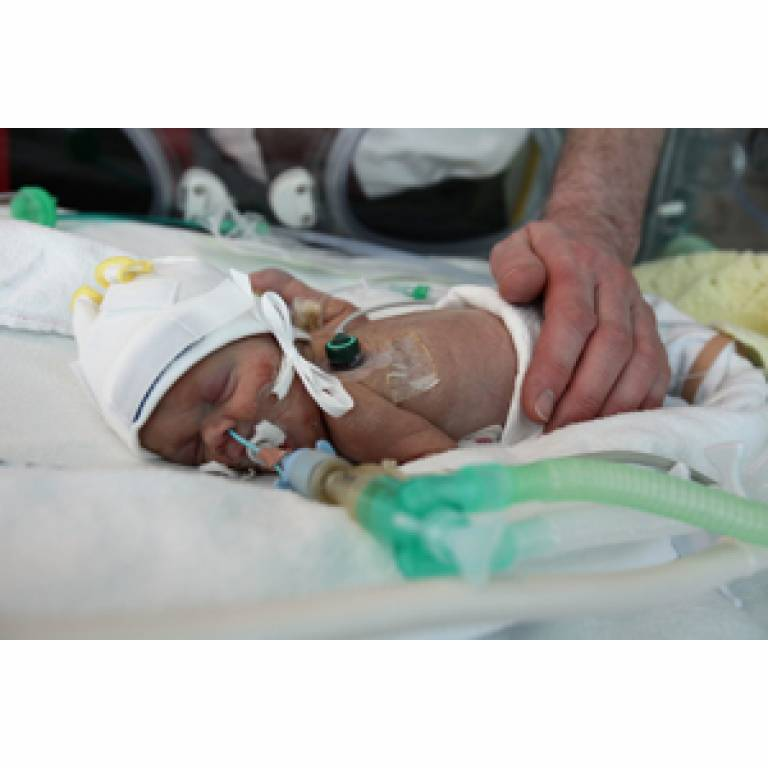 Baby with severe fetal growth restriction