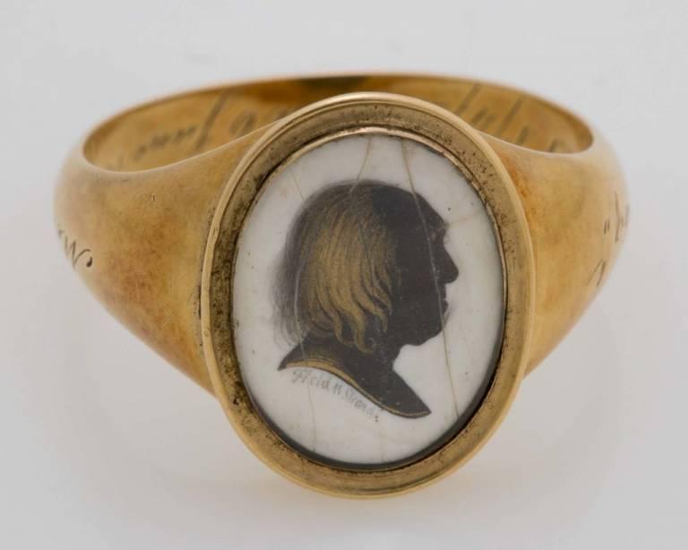 Bentham mourning ring