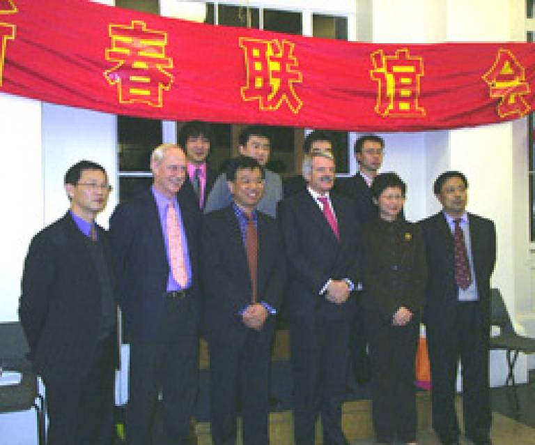 China reception