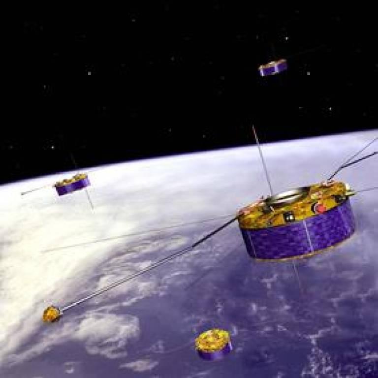 Cluster spacecraft