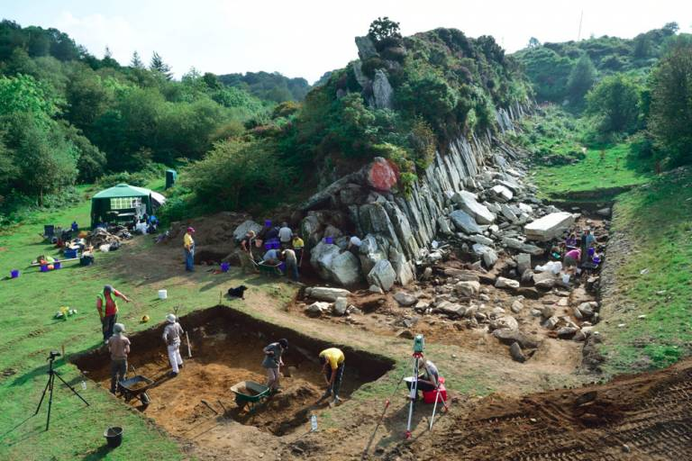 Excavations at Craig Rhos-y-felin