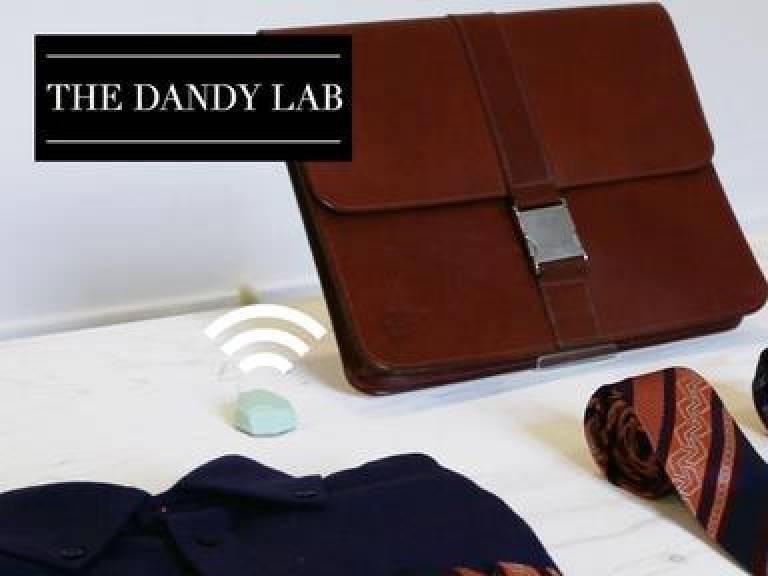 A bag and senor symbolising Dandylab