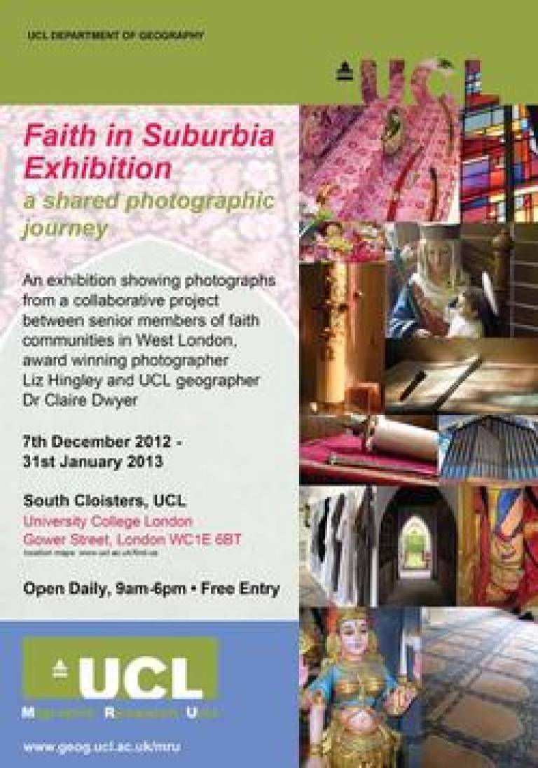 Faith in suburbia image