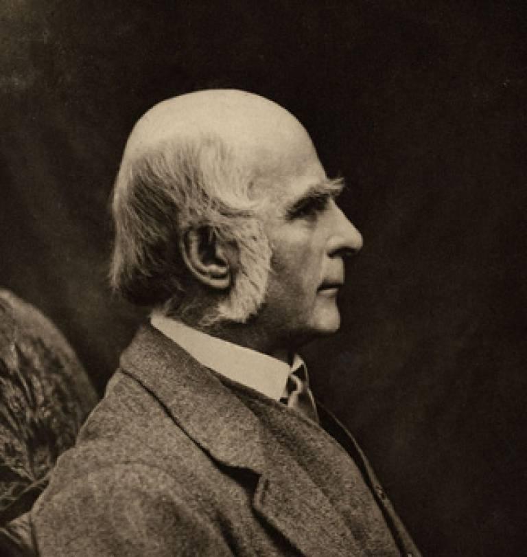 Galton portrait