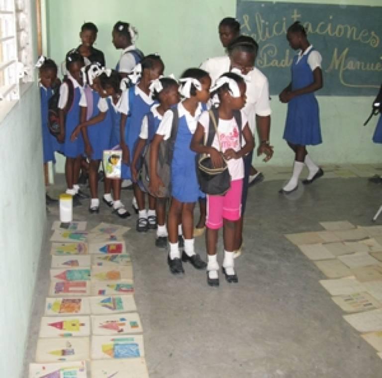 Haiti school girls