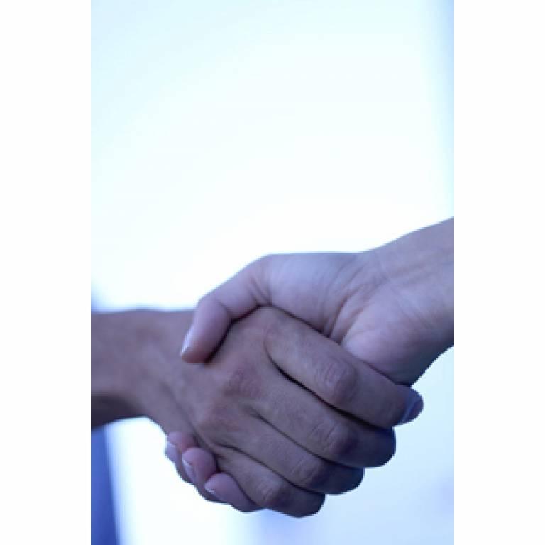 Handshake from Flikr